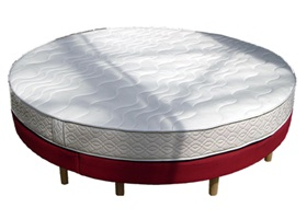Lit Rond Flm Fabricant Matelas Sommiers Literies Rondes
